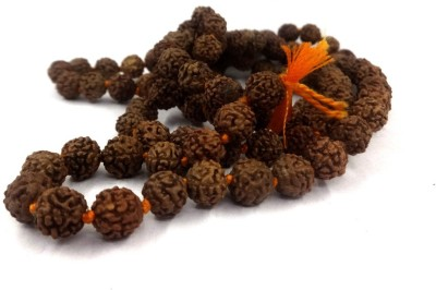 Sitare Good Quality 108 beads 6 mm Rusraksh Jupa Mala Wood Chain at flipkart