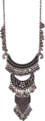 Zephyrr Zephyrr Fashion Turkish Style Beaded Long Pendant Necklace for Women Boho Gypsy Alloy Necklace at flipkart