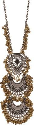 Zephyrr Fashion Turkish Style Beaded Long Pendant Necklace for Women Boho Gypsy Alloy Necklace at flipkart