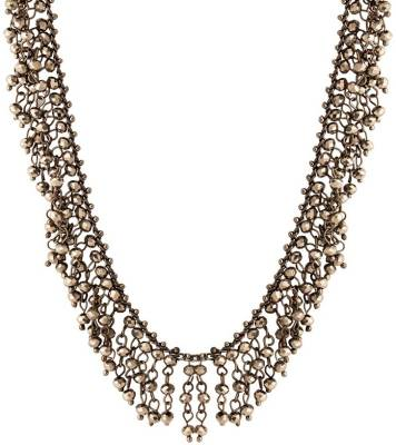 Voylla Artificial Classic Plain Metal Necklace