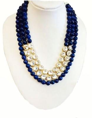 RBS Onyx Stone Necklace at flipkart