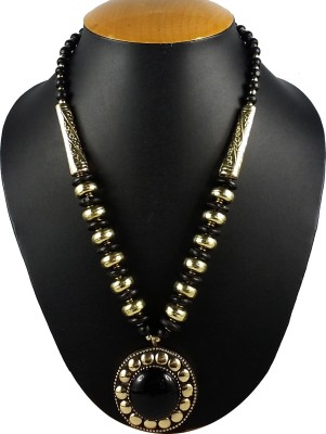 Aradhya Beads Metal Necklace at flipkart