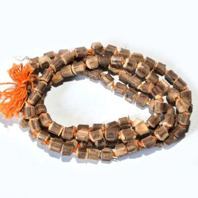 Shiv Shakti Tulsi Mala  Wood Chain at flipkart