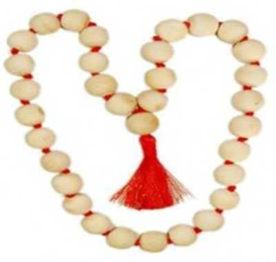 Sangam Creation Tulsi mala Wood Necklace at flipkart