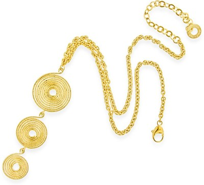 Netaya Gold-plated Plated Bronze Chain at flipkart