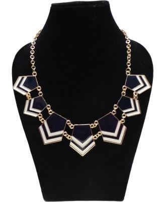 FashBlush Forever New Chevron Glam Alloy Necklace at flipkart