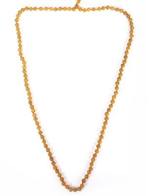 FASHION YATRA Haldi ( Turmeric ) Mala Wood Chain at flipkart