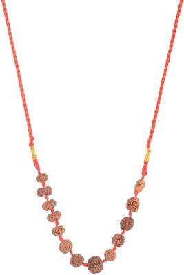 Moksha Rudraksha Siddha Mala.2-14 MUkhi. Wood Necklace at flipkart