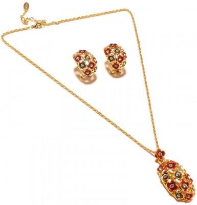 Sanaa Creations Alloy Necklace at flipkart