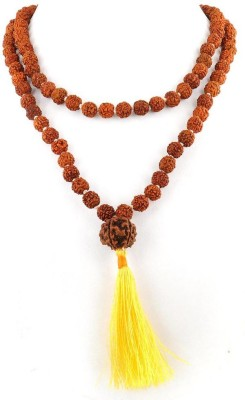 Foocat Energized Twelve Mukhi Rudraksha Wood Necklace at flipkart