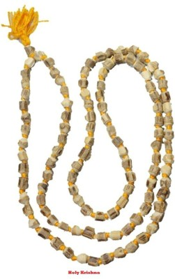Holy Krishna Energized Tulsi Mala For Wearing 108+1 Beads Wood Chain at flipkart