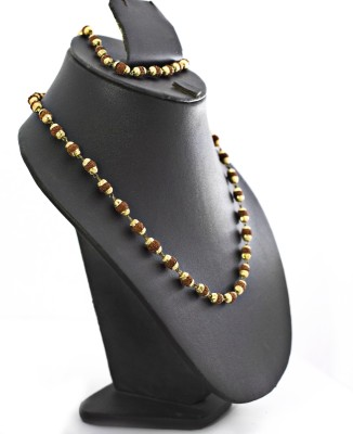 Three Shades Yellow Gold Plated Alloy Chain at flipkart