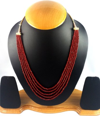 Aradhya Crystal Crystal Necklace at flipkart