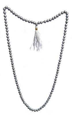 Nakshatra Craft 100% Real Mantra Siddh Parad Mala 108+1 Beads for Japa and Unisex Wearing Silk Dori Necklace at flipkart