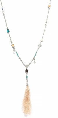 Kook N Keech Enamel Plated Metal Necklace at flipkart