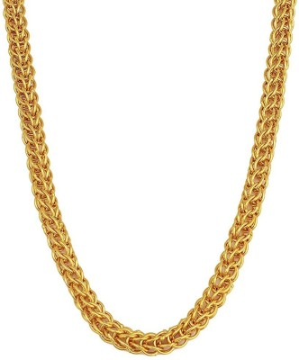 Charms Handmade Collection Yellow Gold Plated Alloy Chain at flipkart
