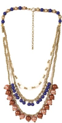 Oh Flossy Beads Alloy Necklace  available at flipkart for Rs.137