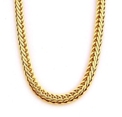 Magic Stones Yellow Gold Plated Brass Chain at flipkart