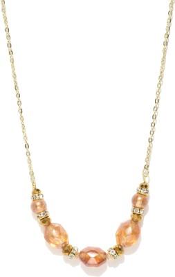 Dressberry Beads Enamel Plated Metal Necklace at flipkart