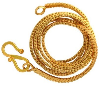 Khushal Bella Gold-plated Plated Brass Chain at flipkart