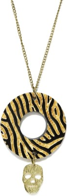 Dressberry Enamel Plated Metal Necklace at flipkart