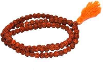 Spiritual Max Rudraksha Mala 100% Original Genuine Wood Necklace at flipkart