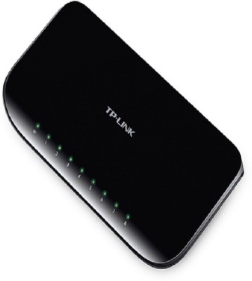 TP-Link TL-SG1008D Network Switch(Black)