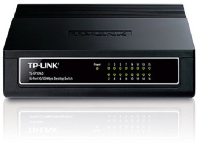 TP-LINK TL-SF1016DS 16-Port 10/100Mbps Switch