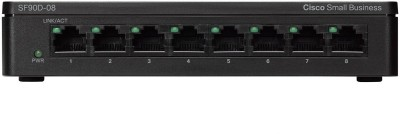 Cisco SF90D-08 Network Switch(Black)