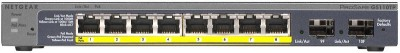 Netgear GS110TP Network Switch Black