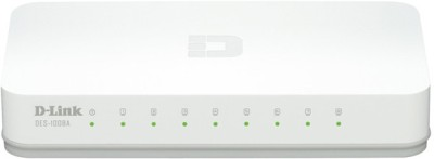 D Link DES 1008A / DES 1008C Network Switch