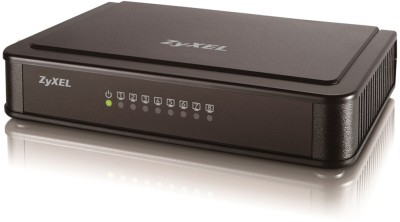 Zyxel ES-108K Network Switch(Black)
