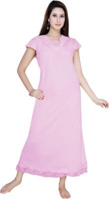 Gargi Women Nighty(Pink)