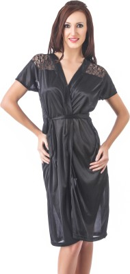 70% OFF on Fasense Women s Nighty(Black) on Flipkart ... 4e7a47f25