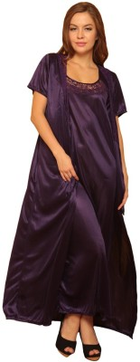 Clovia Women Robe(Blue) at flipkart