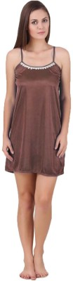 You Forever Women's nighty(Brown)  available at flipkart for Rs.190