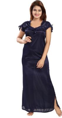 Rangmor Women Nighty(Dark Blue)