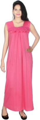 Kanika Women Nighty(Pink)