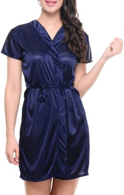 Klamotten Women Robe(Blue) at flipkart