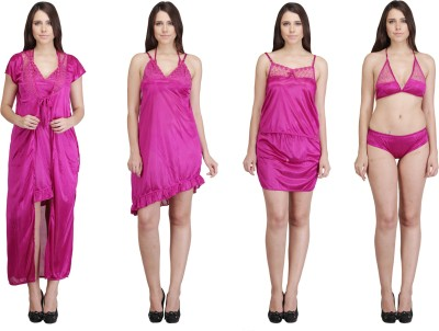 Crazeis Women Nighty(Pink) at flipkart