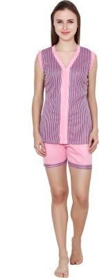 View Kismat Fashion Women s Printed Multicolor Top   Shorts Set Price Online 9b7729198