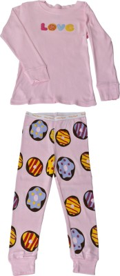 JUMPIN JAMMIES Kids Nightwear Girls Printed Cotton