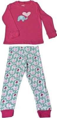 JUMPIN JAMMIES Kids Nightwear Girls Animal Print Cotton