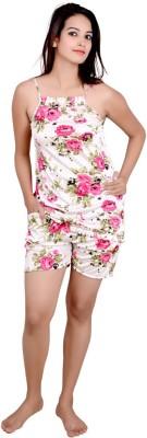 Kanika Women Printed Multicolor Top & Shorts Set