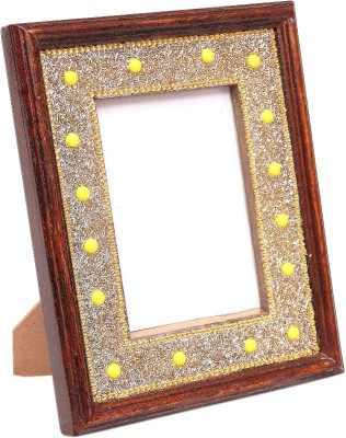 Wood Beauty Wood Photo Frame(Brown, 1 Photos)
