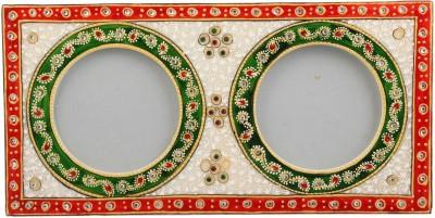JaipurCrafts Stoneware Photo Frame(Multicolor, 2 Photos)