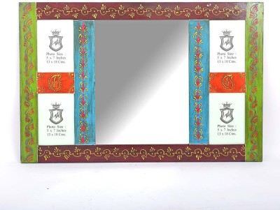 FANUSTA Wood, Glass, Acrylic Photo Frame(Multicolor, 4 Photos) at flipkart