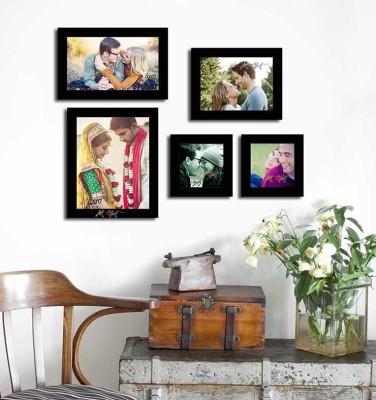 Painting Mantra Generic Photo Frame(Black, 5 Photos) at flipkart