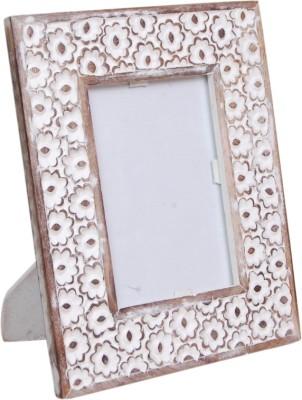 Wood Beauty MDF Photo Frame(White, 1 Photos)