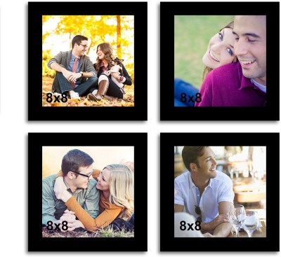 Painting Mantra Generic Photo Frame(Black, 4 Photos) at flipkart